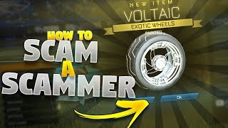 How To Scam A Scammer On Rocket League