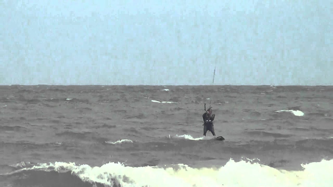 Kite Surfing At Va Beach