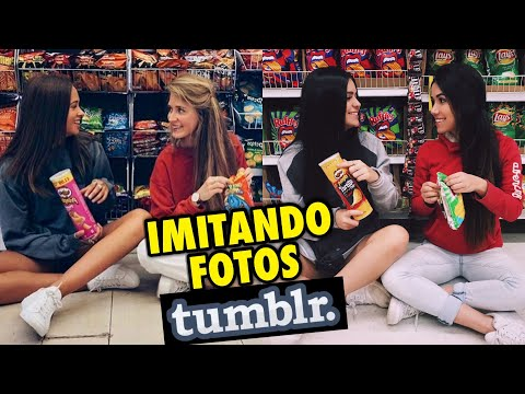 IMITANDO FOTOS TUMBLR DE AMIGAS (Ft. Viih Tube)