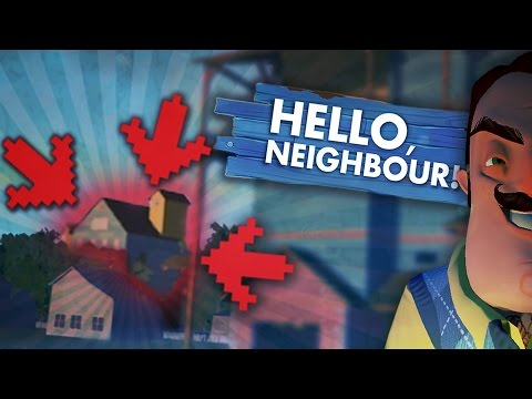 SECRET SECOND HOUSE!! INSIDE HIS OTHER HOUSE! (Hello Neighbor / Hello Neighbour)