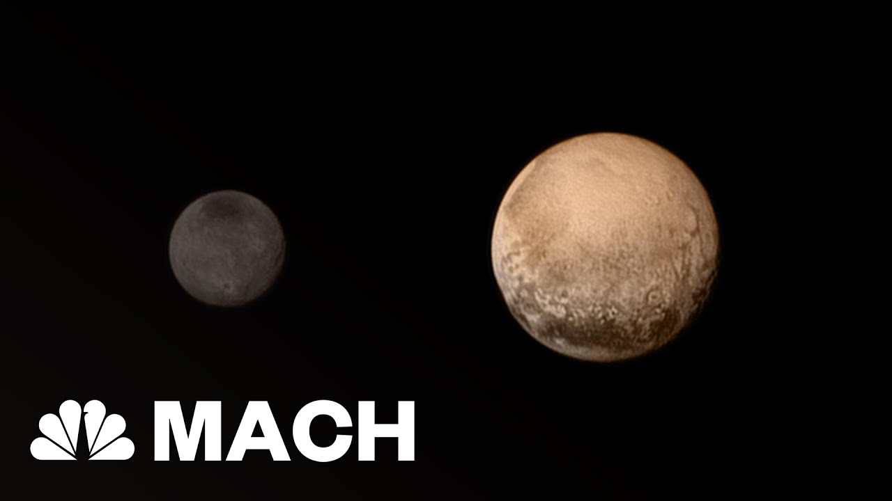 Download Astronomers Discover Something Strange And Beguiling On Pluto's Largest Moon   Mach   NBC News