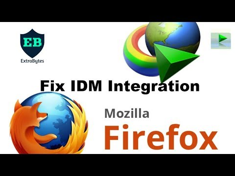 How To Fix Idm Integration With Firefox