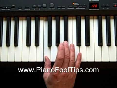 Free Piano Lessons- Finding the Fm Chord