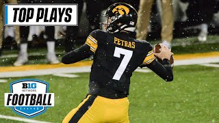 50 Of Iowa's Top Passing Plays Of The 2020 Season   Big Ten Football