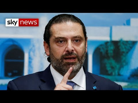 Lebanon's Prime Minister Saad Hariri offers his resignation
