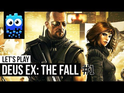Deus Ex: The Fall PC Let's Play #1 - The Tyrants in Moscow.