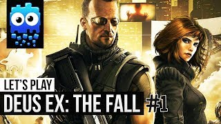 This is the first part of our Deus Ex The Fall Lets Play on the PC We will have more episodes daily so be sure to subscribe and like the video if you like the