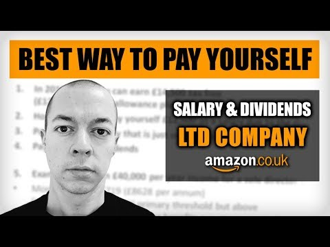 How To Pay Yourself As A Ltd Company - Directors Salary 2019/2020 - Amazon FBA UK 2019