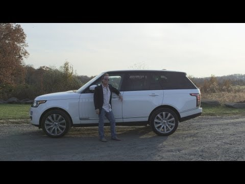 2013 Range Rover Test Drive & Review