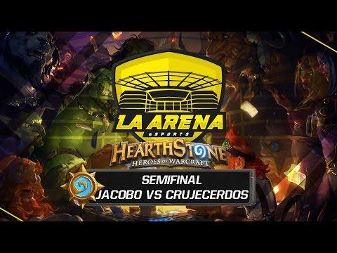 Jac0b0 vs Crujecerdos | Semifinal Tavern Hero 2 | La Arena eSports Madrid