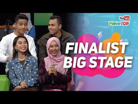 Finalist Big Stage Berada Di MeleTOP | Afieq Syazwan , Syafiq Farhain,  Wanie Kayrie, Sarah Suhairi