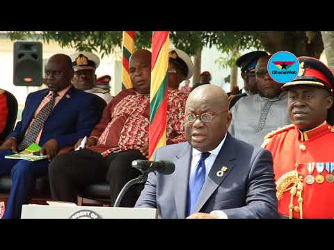 Akufo-Addo commissions cadet officers into Ghana Armed Forces