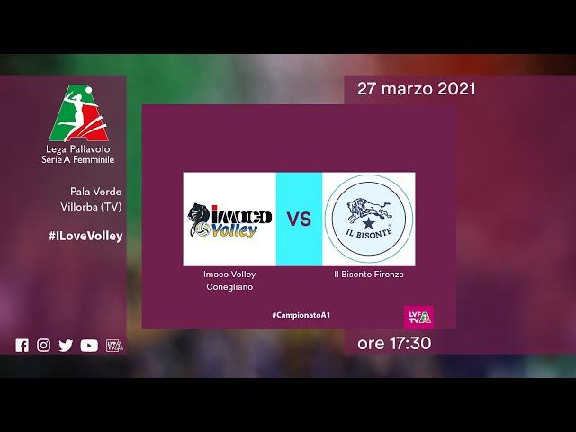 Conegliano - Firenze   Speciale   Gara1 Quarti di Finale Playoff   Lega Volley Femminile 2020/21