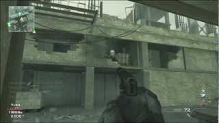 mw3 epic knife only moab tactical solo  rare