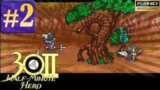 Half Minute Hero: The Second Coming Walkthrough (Overture) - Part 2 Gameplay 1080p
