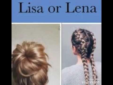 Lisa Or Lena ClothesHairShoes YouTube