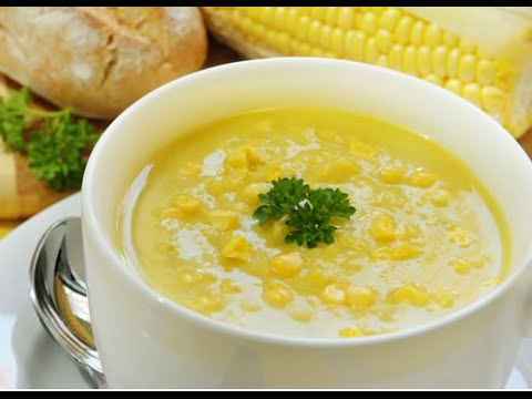 how to make indian corn soup