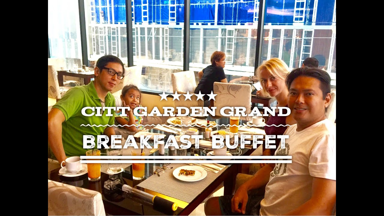 City Garden Grand Hotel Makati Tour Episode 4: Spice Cafe Breakfast Buffet  By HourPhilippines.com   YouTube