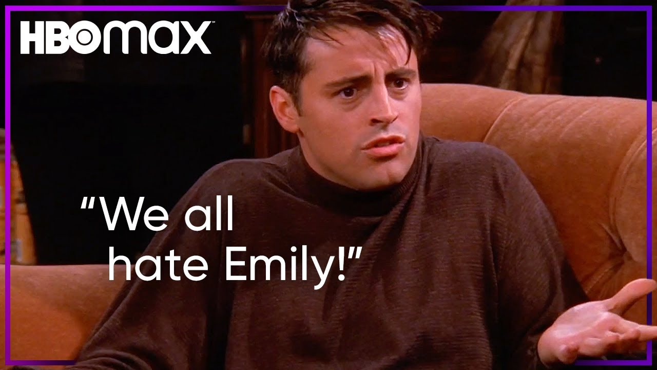 Friends | Everyone Hates Emily | HBO Max