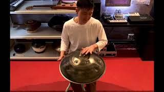 虹彩 / F Minor 16  /Handpan/Played by 平野陽平/Yohei Hirano