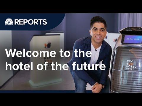 Alibaba's Keyless And Cashless Hotel Is Straight Out Of The Future | CNBC Reports