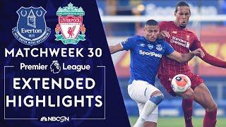 Everton v. Liverpool | PREMIER LEAGUE HIGHLIGHTS | 6/21/2020 | NBC Sports