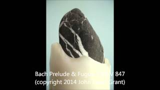 Bach Prelude & Fugue 2 BWV 847 (copyright 2014 John Lewis Grant)