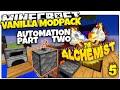 Minecraft | BLOCKBREAKER MACHINE | ALCHEMIST #5 | Skyblock Vanilla Mod Pack (Minecraft Vanilla Mods)