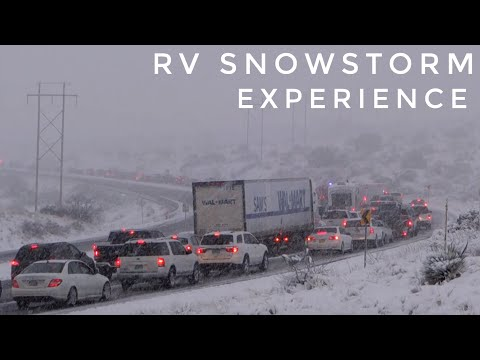 RVing through ANOTHER snowstorm, Part 2 [North American Road Trip #63]