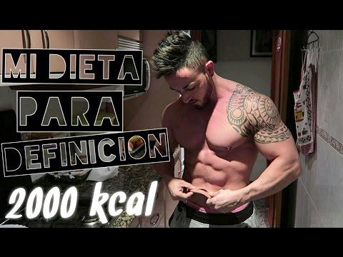 Dieta de 2500 calorias diarias hipertrofia
