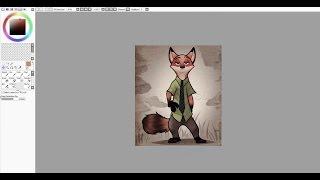 (Уроки SAI Paint Tool) #1 - Первые шаги (за 5 минут)