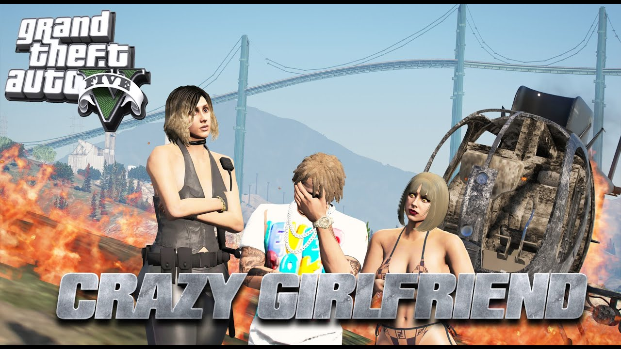 Download GTA 5 CRAZY GIRLFRIEND EP. 8 [HD] TRAPPED ON ISLAND BY GIRLFRIEND