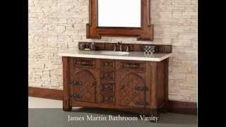 Storage Smart Antique Bathroom Vanities For Any Size Bathroom - Homethangs.com