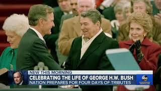President George H W  Bush: 41th President of United States
