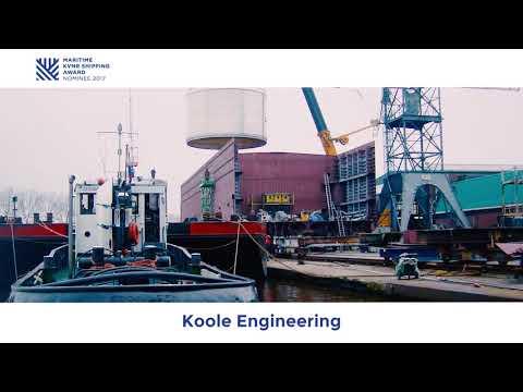 Maritime KVNR Shipping Award 2017 - Genomineerde Koole Engineering met ORCA Tanker