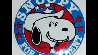 Snoopy For President ROYAL GUARDSMEN Stereo Remix Tom Moulton Video Steven Bogarat