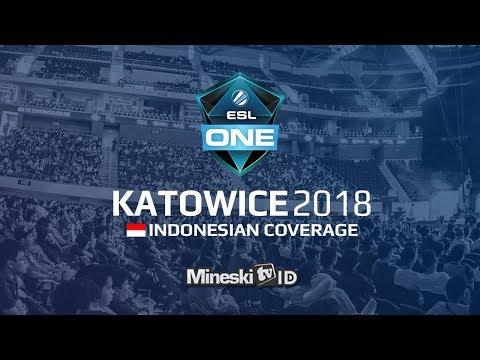 🔴LIVE: Evil Geniuses vs Newbee @ESL Katowice 2018 Group Stage Day 4 - Indonesian Coverage