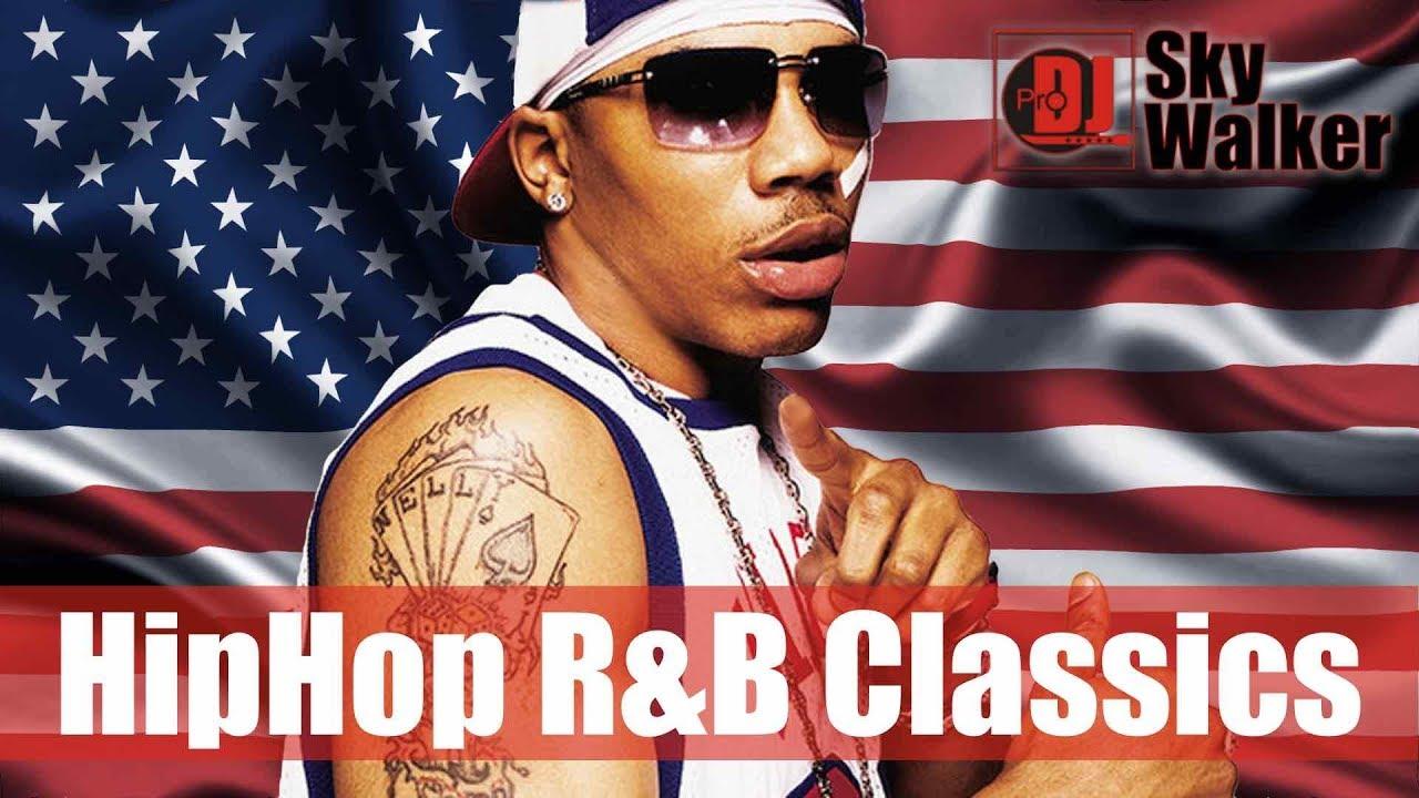 Hip Hop Old School R&B 2000s 90s Rap Mix | Black Music Party Dance Playlist 2019 | DJ SkyWalker