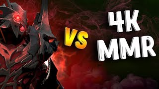 SF VS 4К ММР В ИГРЕ ДОТА 2 - SHADOW FIEND VS 4K MMR DOTA 2