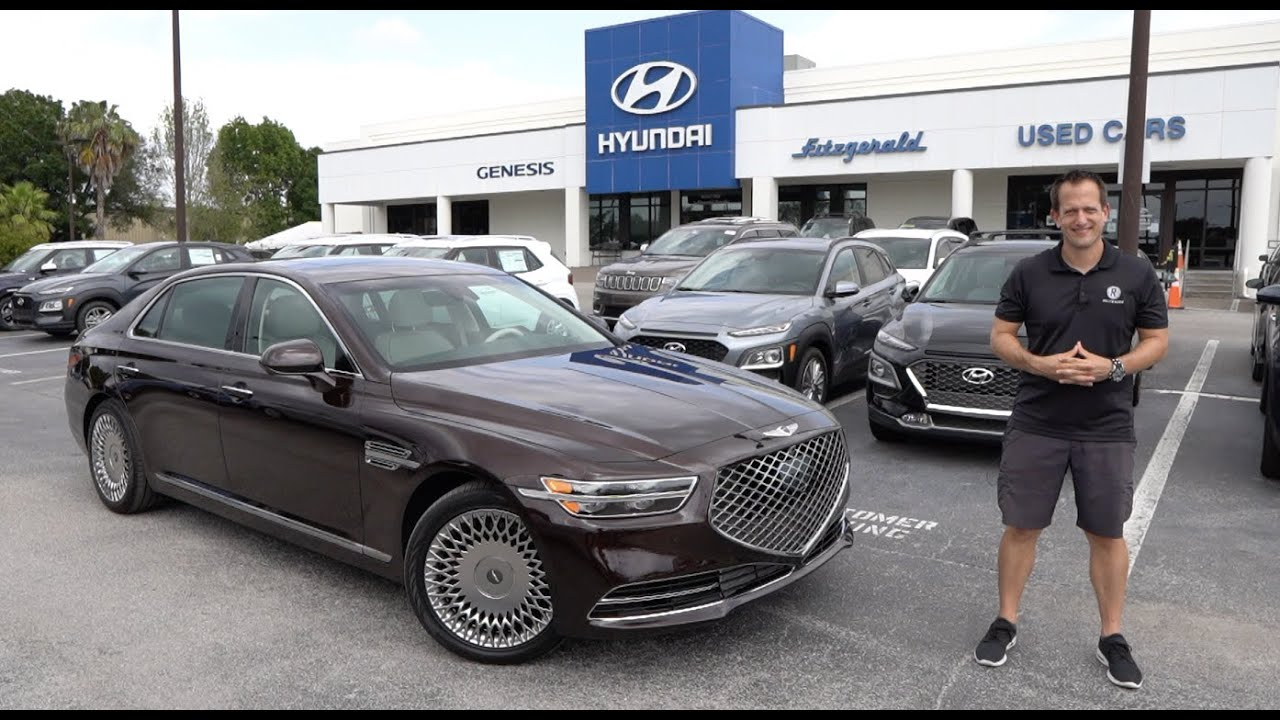 Does the 2020 Genesis G90 have Mercedes Benz luxury for a bargain price?