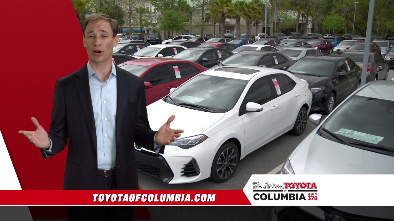 fred anderson toyota of columbia toyota time youtube. Black Bedroom Furniture Sets. Home Design Ideas