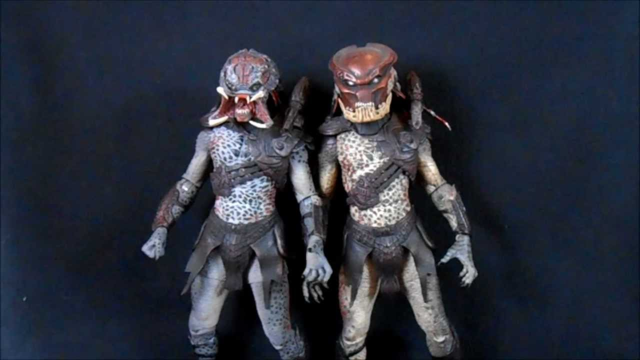 quotunmasked berserkerquot neca predator wave 2 youtube