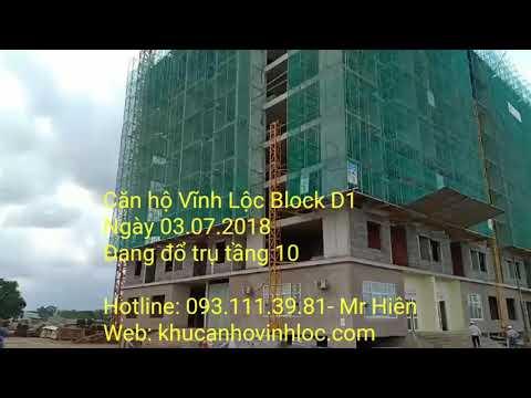 Căn hộ Vĩnh Lộc Block D1 ngày 03.07.2018