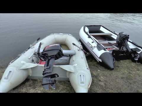 Надувные лодки из ПВХ, лодочные моторы и другие товары для
