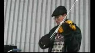 Autumn Leaves- electric violin 4 Salvation Army efiddle
