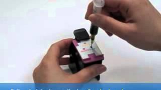 návod na plnění barevné cartridge HP 301 a HP 301XL - InkTec HPI-1061C