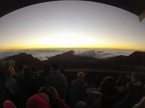 Maui Haleakalā Volcano Sunrise