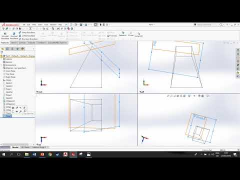Surface geometry correction