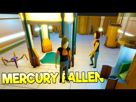 BUILDING AN UNDERGROUND BASE ON AN ALIEN PLANET! - Mercury Fallen Alpha Gameplay
