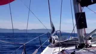 Italia 9.98 Low Noise II Campione del mondo ORC C 2015 in navigazione a Punta Ala